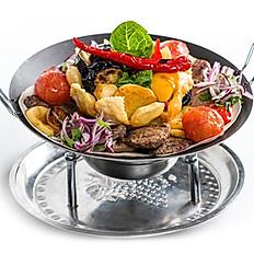 Садж-кебаб из свинины