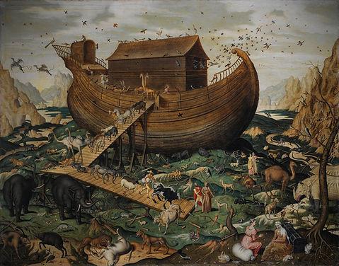 Noah's_Ark_on_Mount_Ararat_by_Simon_de_M