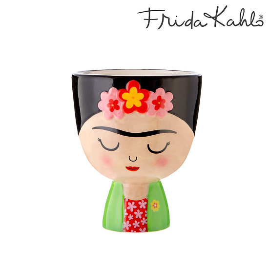 Plant A Smile | Home Accessories and Gifts. Frida Kahlo Indoor Planter Pot - Medium Size. Mexican Style Planter.
