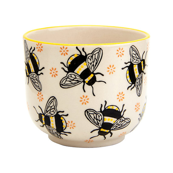 Busy Bees Small Indoor Planter (Plant Pot)