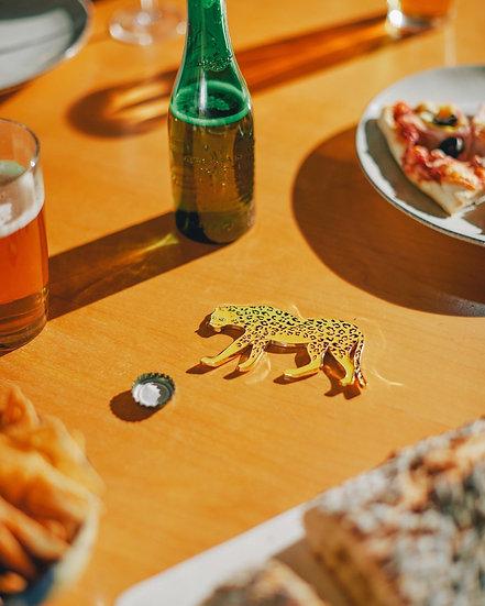 DOIY Savanna Bottle Opener - Cheetah
