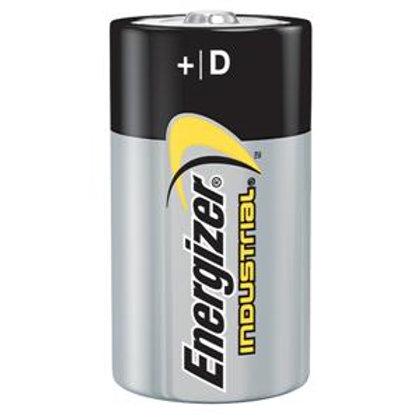 D Alkaline Batteries - 12 Pack