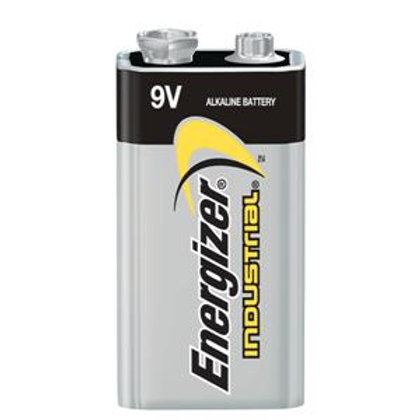 9 Volt Alkaline Batteries - 12 Pack