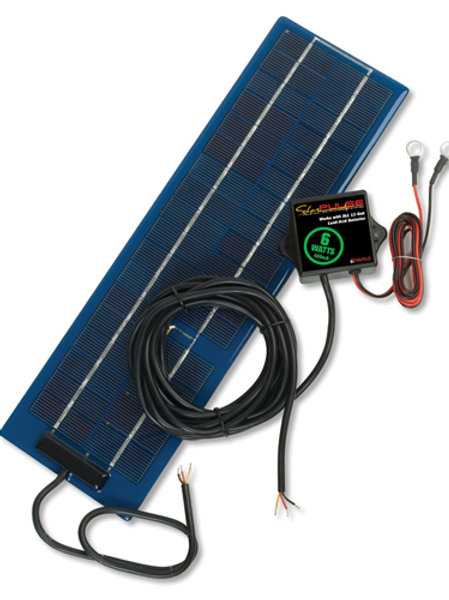SolarPulse ERV 12V Solar Charger Maintainer