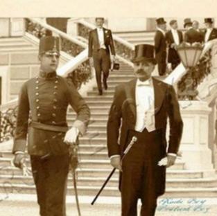 Kadri's graduation from Theresian Military Academy, Austria
