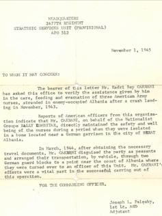 US Military Letter