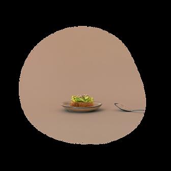 des probiotiques dans un avocado toast