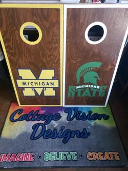 Cornhole- Michigan or State