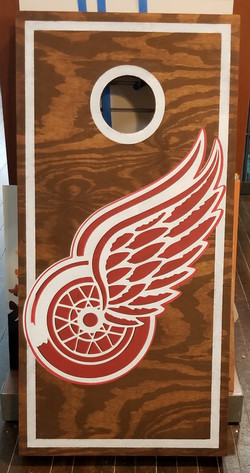 Cornhole- Red Wings