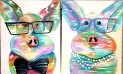 VBV 149 & 164 Rainbow Pig