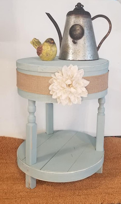 Cheese box side table