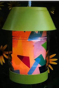 Upcycled Lantern