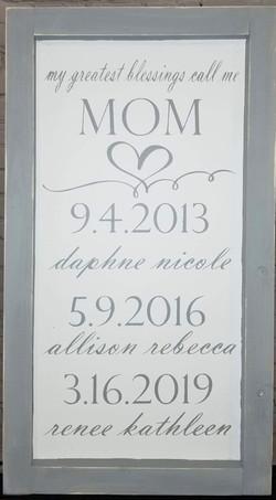 Mom's Blessings