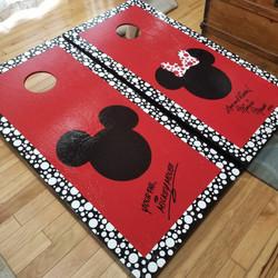Cornhole- Micky&Minnie