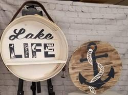 Lake Life Cheese Box with shelf