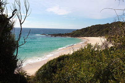 Shelly Beach, Pacific Palms, NSW, Australia