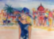 carnet de voyage à Nice