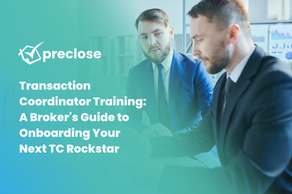 Transaction Coordinator Training: A Broker's Guide to Onboarding Your Next TC Rockstar