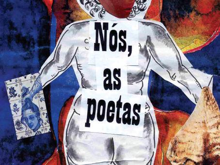 """Leia 24 MULHERES na fanzine """"NÓS, AS POETAS!"""" - primeira edição"""