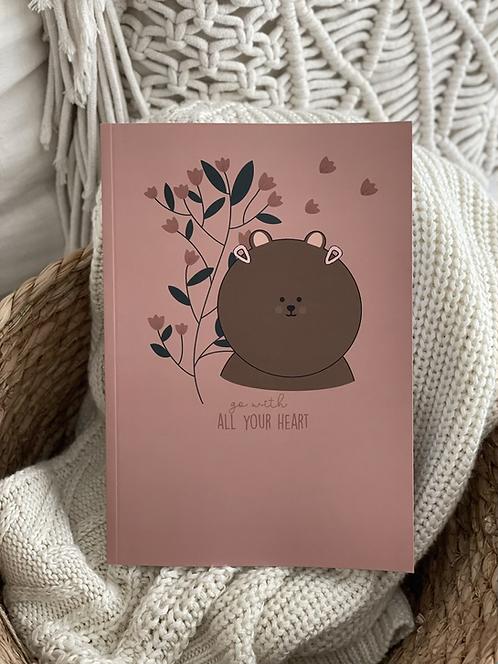 Notizbuch   A5   Bär