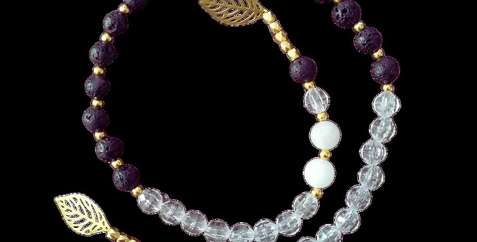 String of Hope Jade & Lava Aroma Diffuser