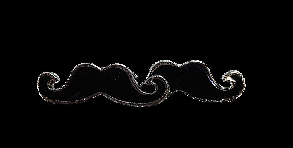 Cool Moustache Studs