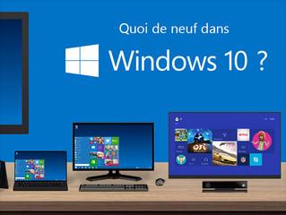 Windows 10 : les nouveautés du futur OS Microsoft en images