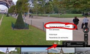 Google permet d'insérer dans un site Street View et Photo Sphere