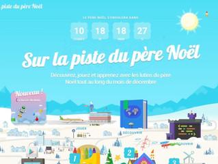 Partez avec Google sur la piste du Père Noël