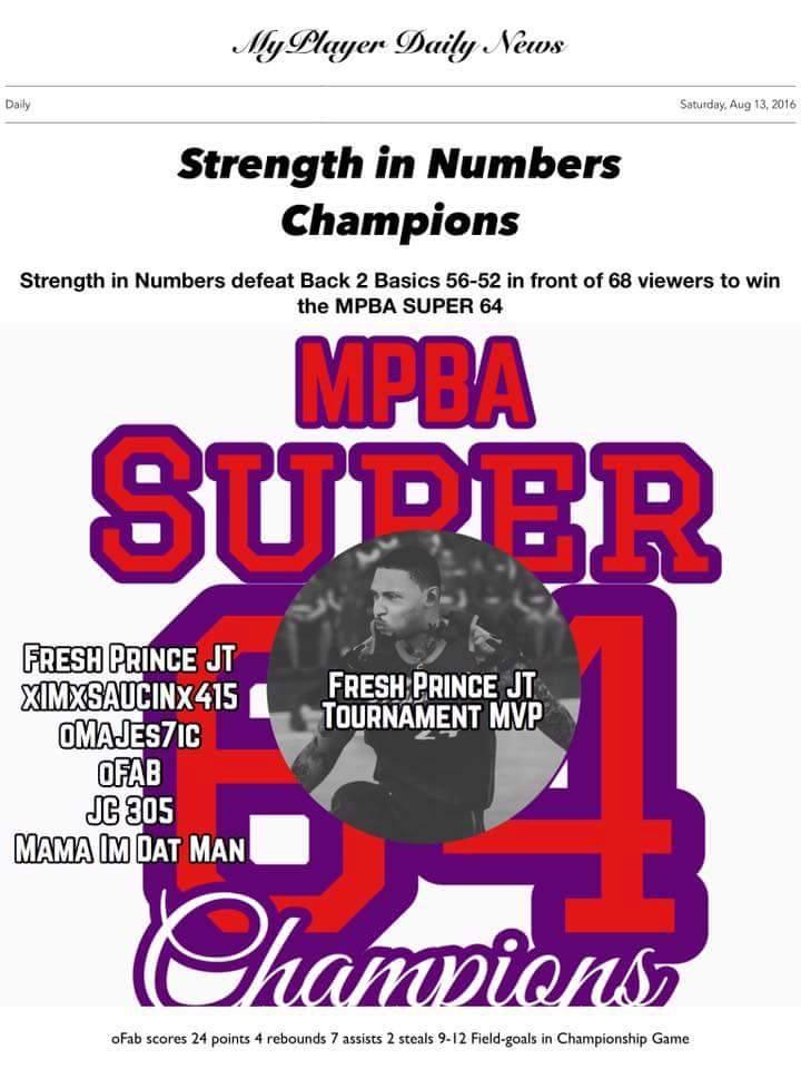 2016 SUPER 64