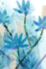 FLO-239 Blue Bamboo Flowers II.24x36..jp