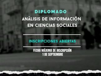 Diplomado en Análisis de información en Ciencias Sociales