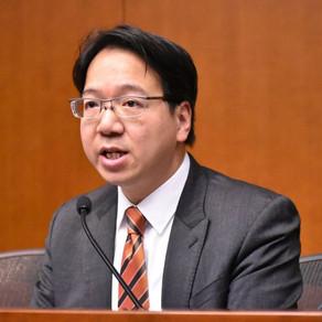 Hong Kong IT sector legislator Charles Mok apologises