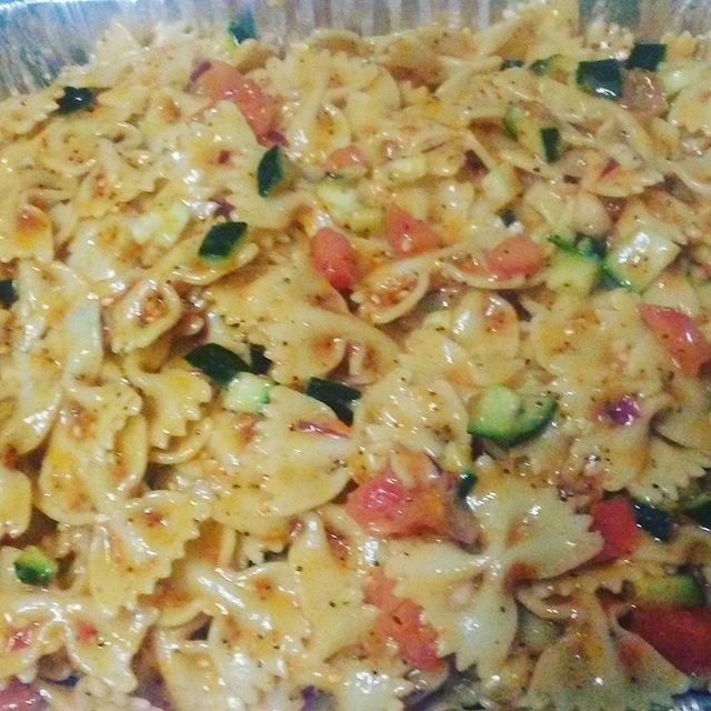 Catering Bow Tie Pasta Salad