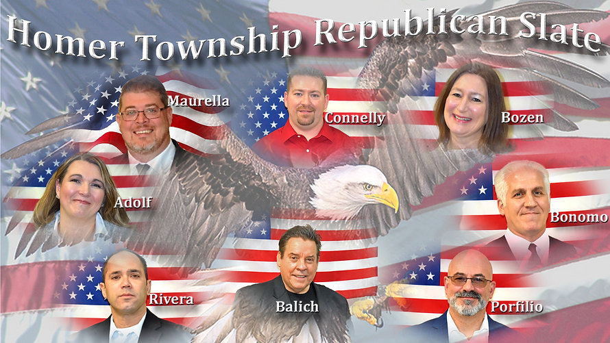 Homer Township Republican Slate (3) with