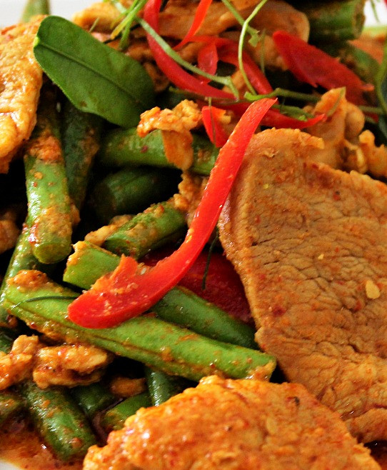 Thai Red Curry Stir Fry
