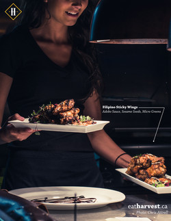 Sticky Wings Ad