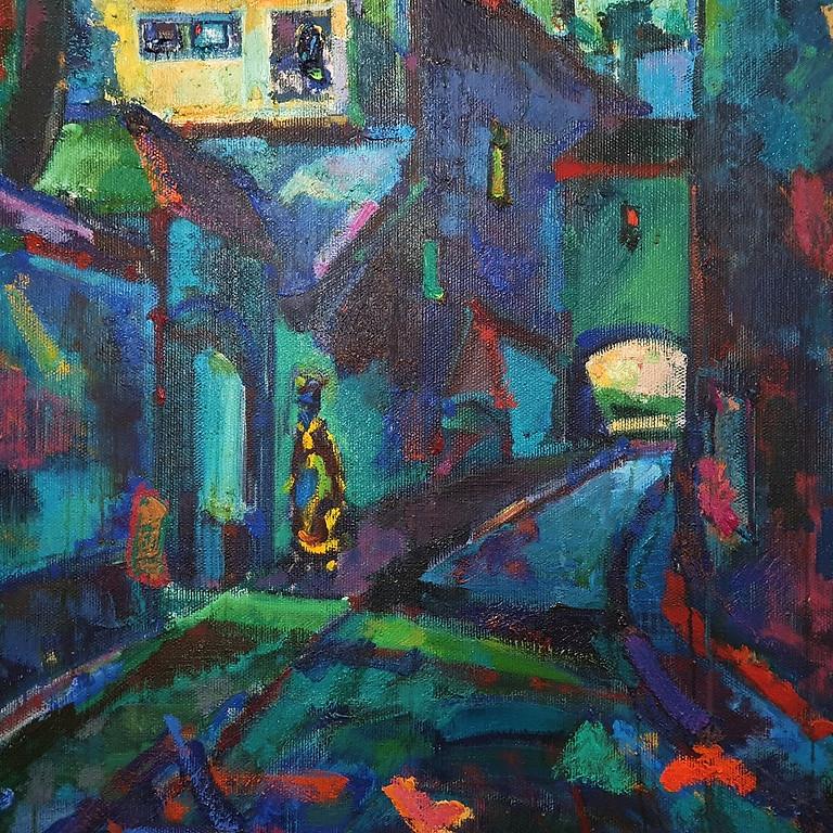 Naktinė ekskursija su tapytoju Mantu Meškėla