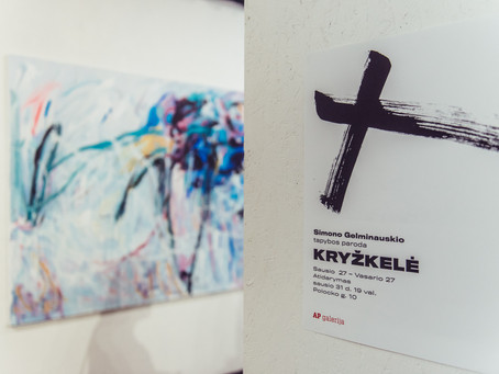 """Luvre pristatyti darbai pasirodys ir naujausioje Simono Gelminauskio parodoje """"Kryžkelė"""""""