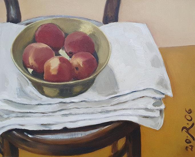 Raimonda Jatkevičiūtė Kasparavičienė, Kalėdiniai obuoliai, 2006