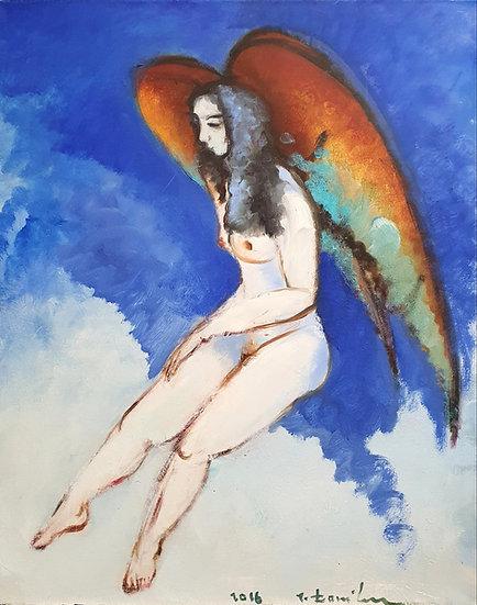 Jonas Daniliauskas, Moteris angelo sparnais, 2016