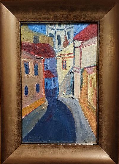 Aistė Bugailiškytė, Literatų gatvė