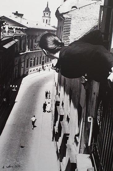 Antanas Sutkus, Maratonas Universiteto gatvėje, 1959