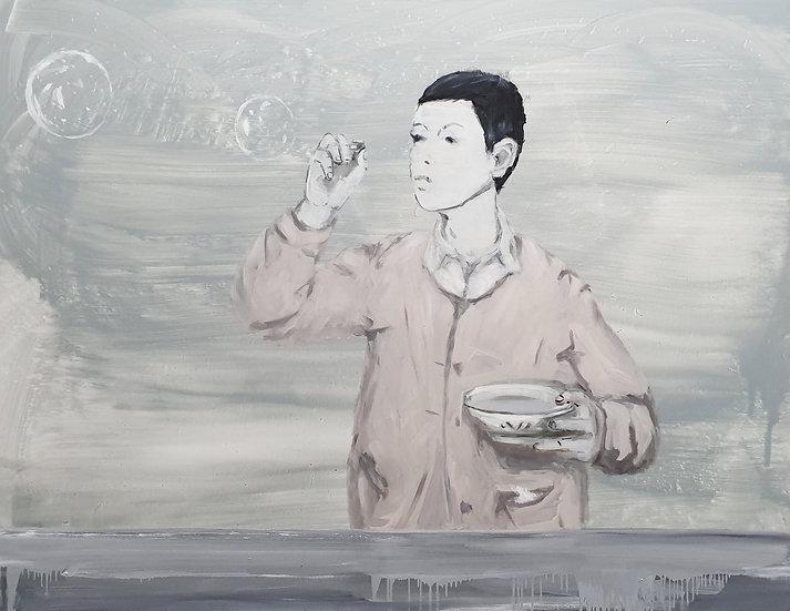 Viktoras Paukštelis, Burbulų pūtikas, 2020