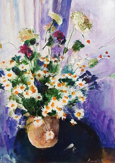Ramunė Savickaitė, Laukinių gėlių puokštė, 2019
