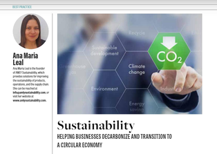 Decarbonize and Transition to a Circular Economy