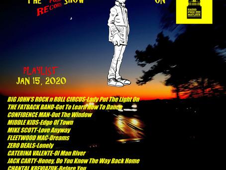 RFM Show 15/1/20