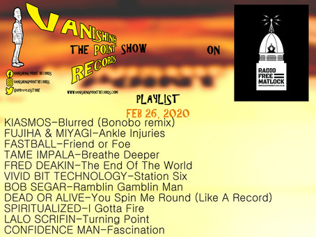 RFM Show 26/2/2020