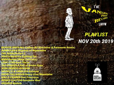 RFM Show 20/11/19
