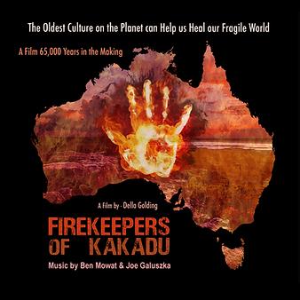 firekeepers of kakadu landscape poster o
